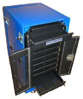 Laptop Lock-Up Deployable E-Tool Cabinet Model LL7D-07: Secure Laptop Storage, Secure Laptop Charging